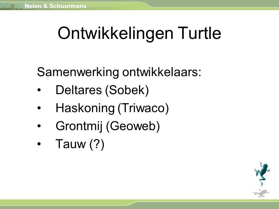 Ontwikkelingen Turtle