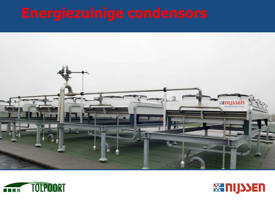Energiezuinige condensors