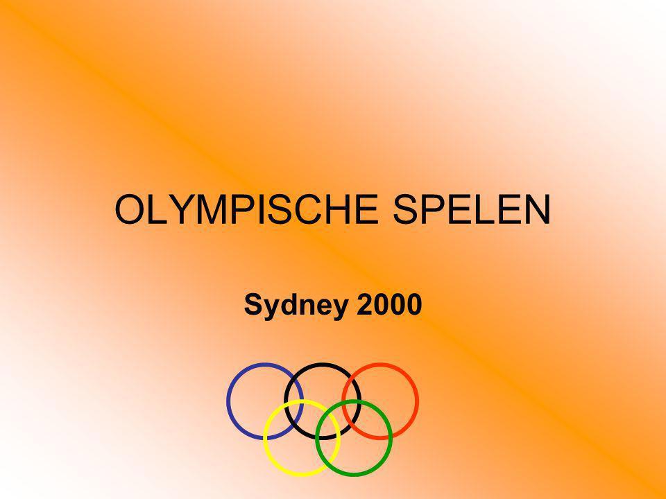 OLYMPISCHE SPELEN Sydney 2000