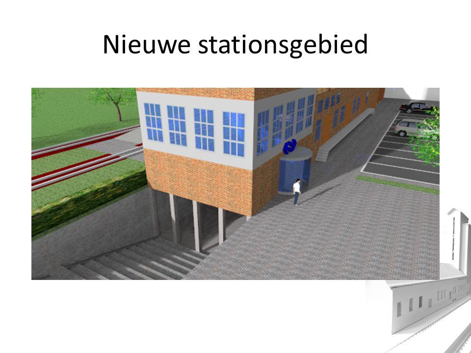 Nieuwe stationsgebied