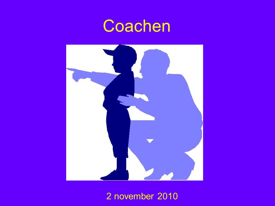 Coachen 2 november 2010