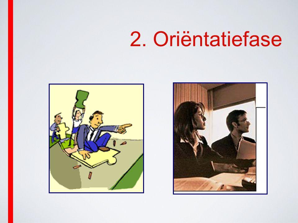 2. Oriëntatiefase