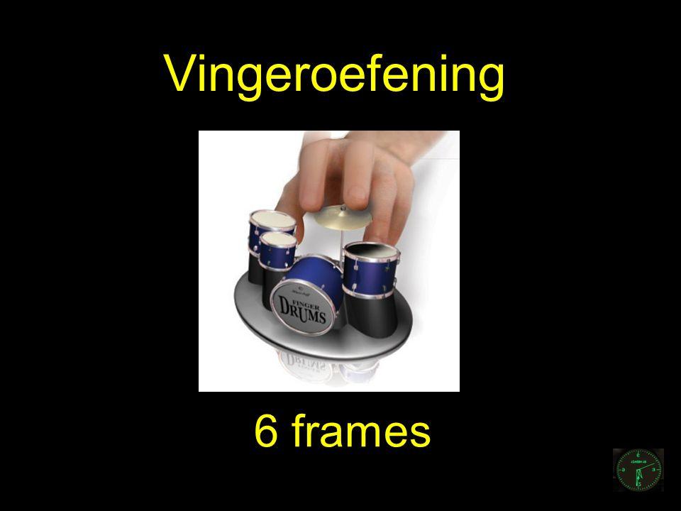 Vingeroefening 6 frames