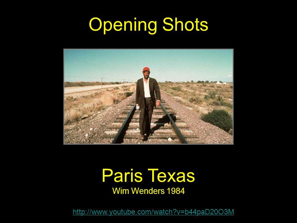 Paris Texas Wim Wenders 1984