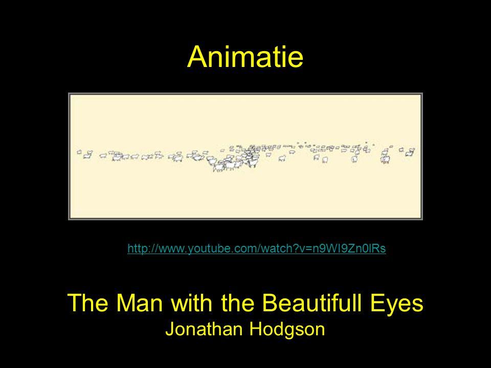 The Man with the Beautifull Eyes Jonathan Hodgson