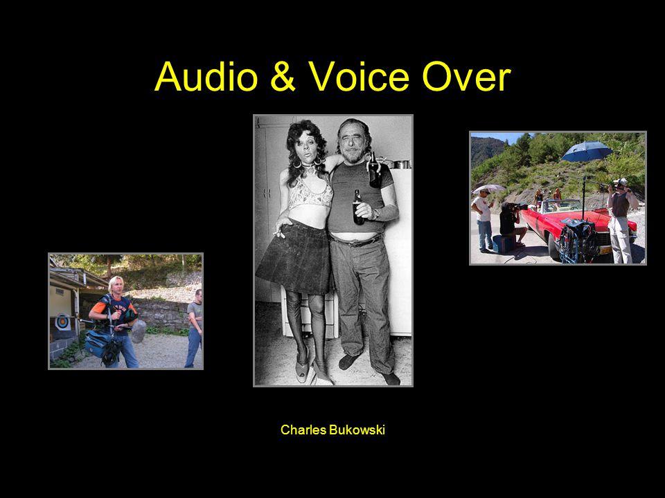Audio & Voice Over Charles Bukowski