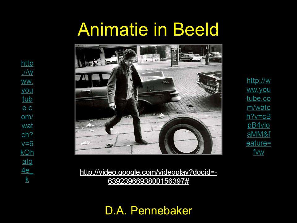 Animatie in Beeld D.A. Pennebaker