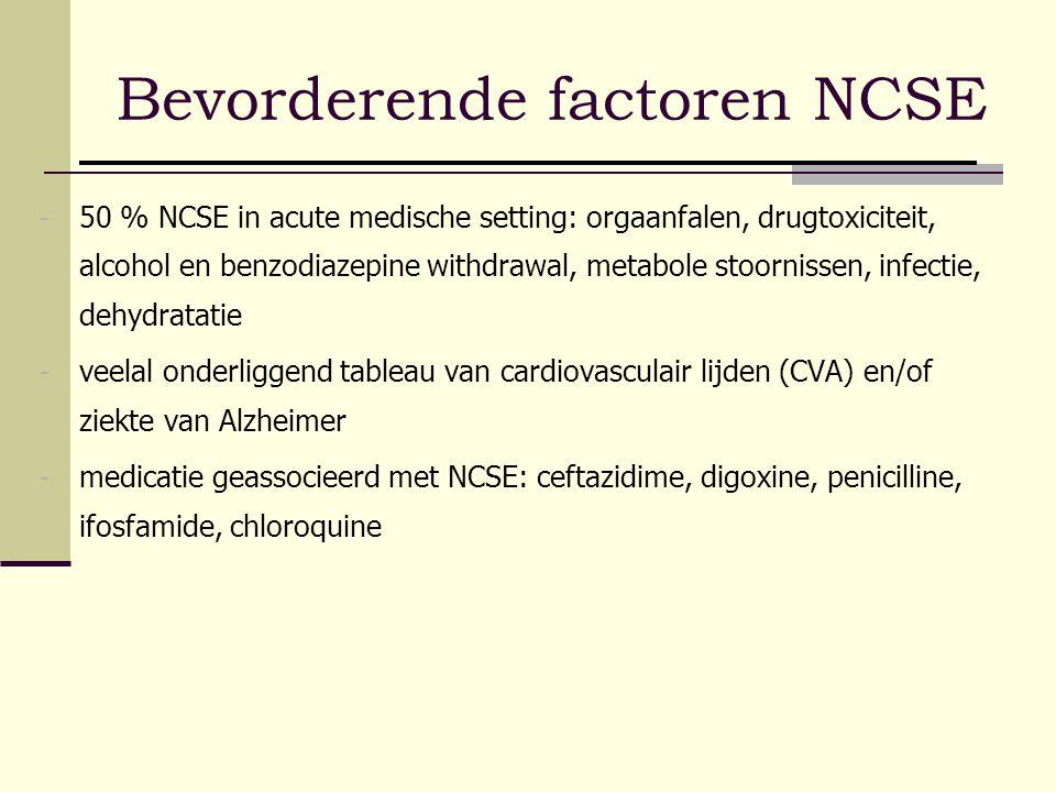 Bevorderende factoren NCSE