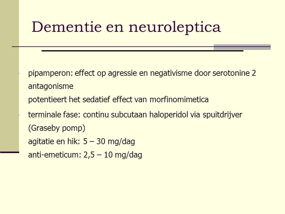 Dementie en neuroleptica