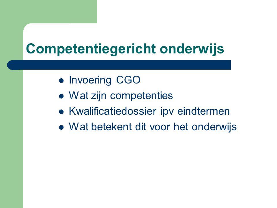 Competentiegericht onderwijs