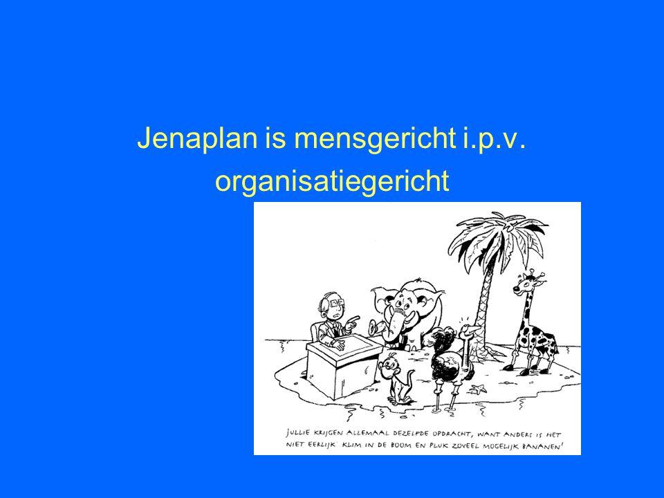 Jenaplan is mensgericht i.p.v.