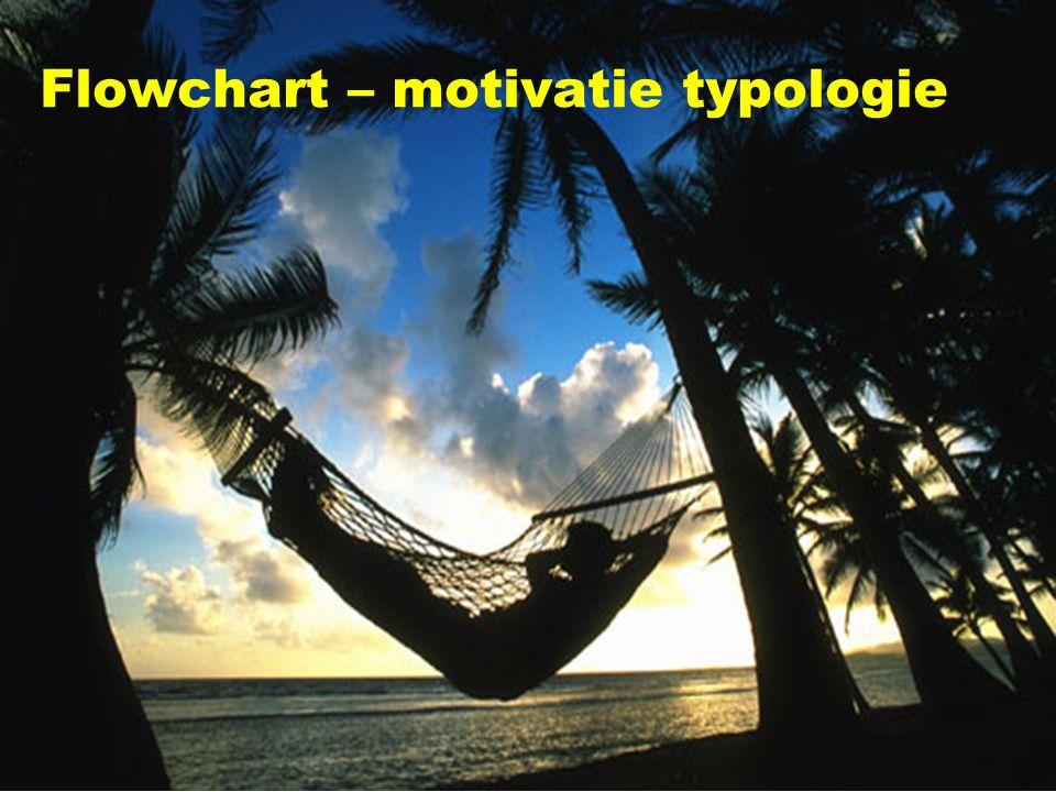 Flowchart – motivatie typologie