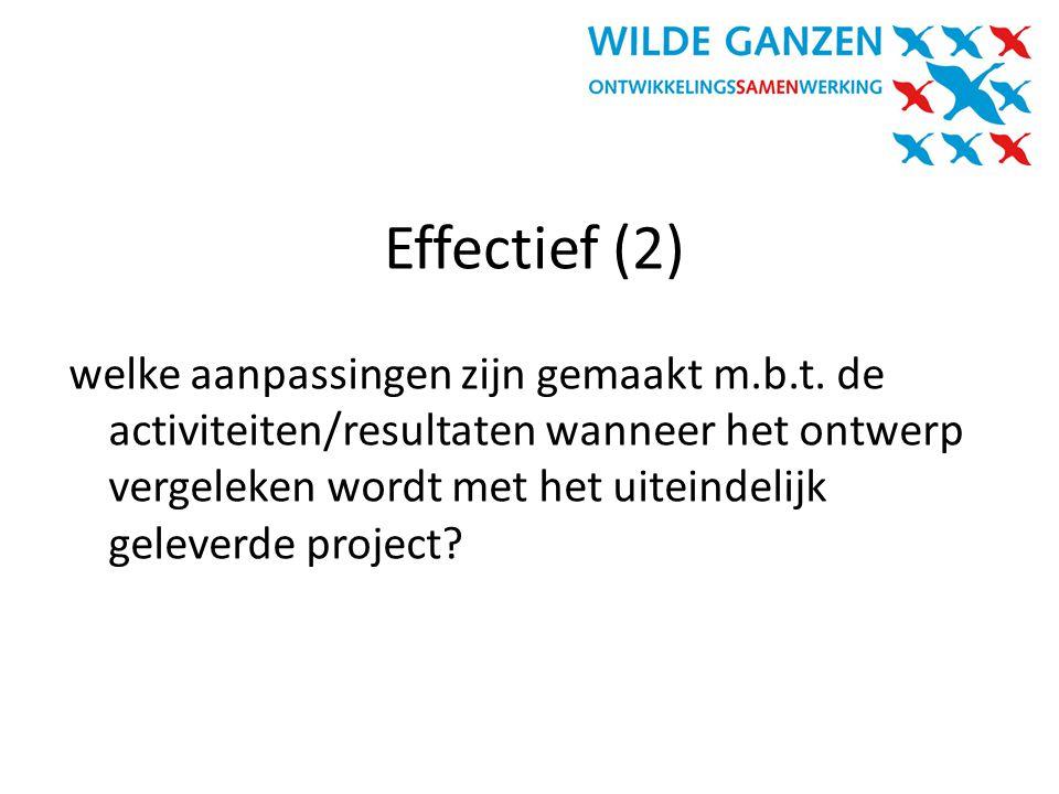 Effectief (2)