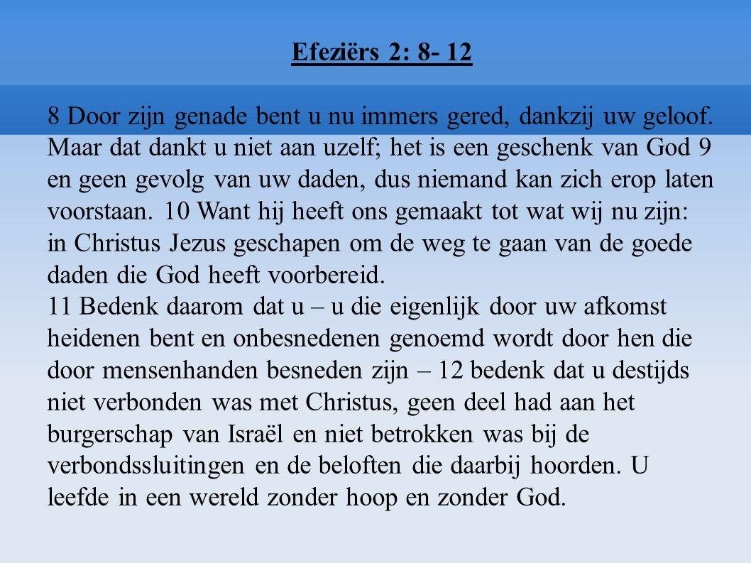 Efeziërs 2: 8- 12