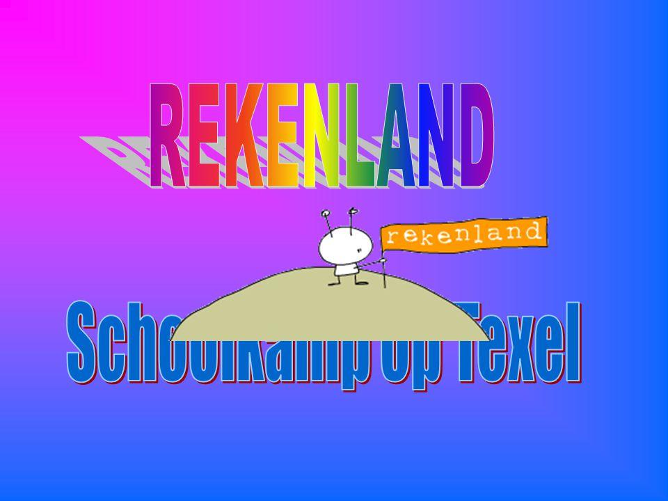REKENLAND Schoolkamp op Texel