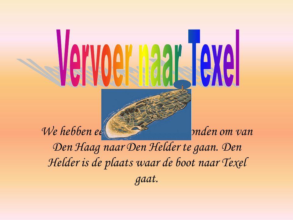 Vervoer naar Texel