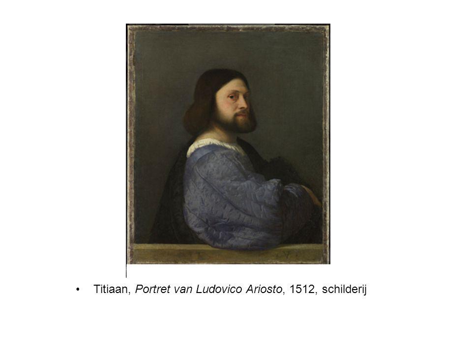 Titiaan, Portret van Ludovico Ariosto, 1512, schilderij