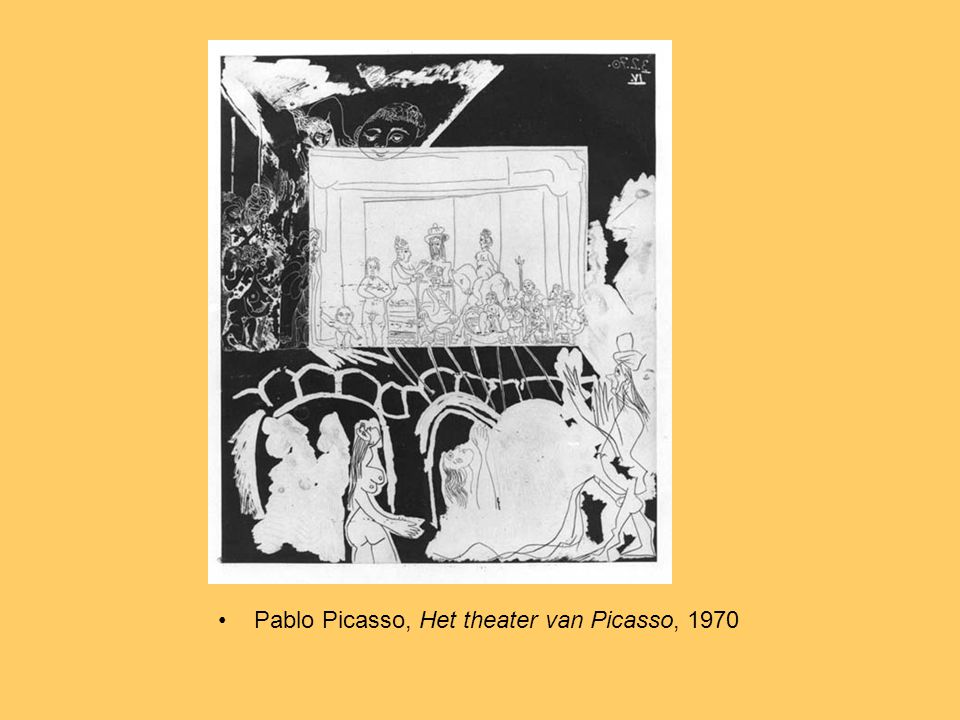 Pablo Picasso, Het theater van Picasso, 1970