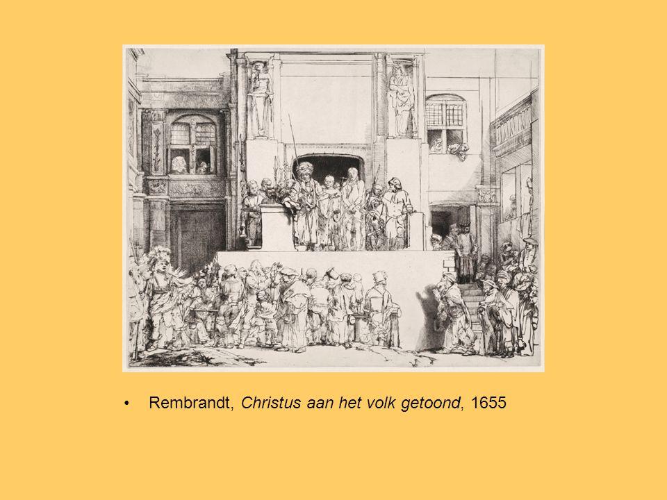 Rembrandt, Christus aan het volk getoond, 1655