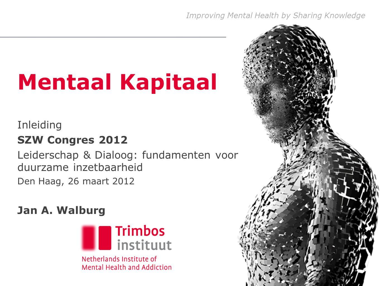 Mentaal Kapitaal Inleiding SZW Congres 2012
