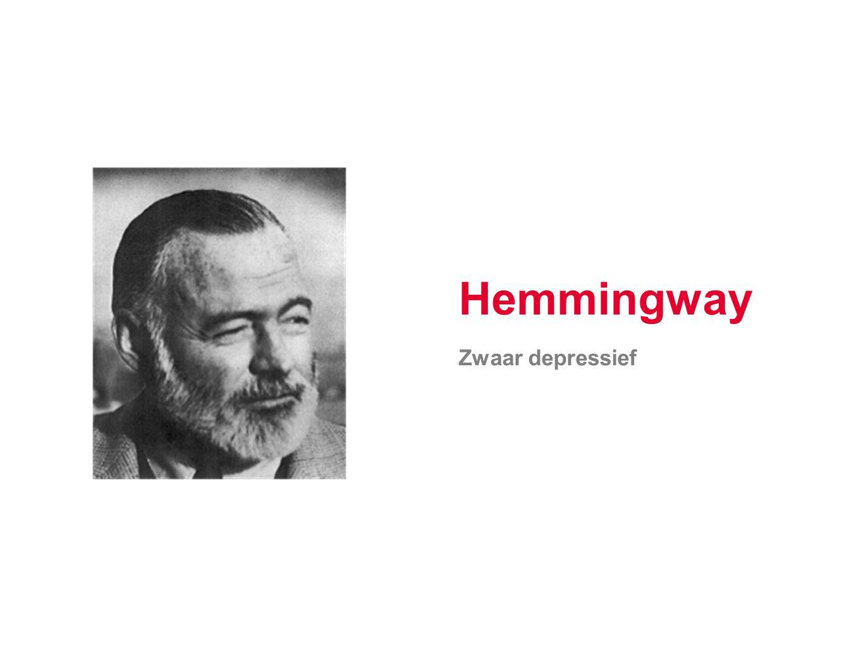 Hemmingway Zwaar depressief