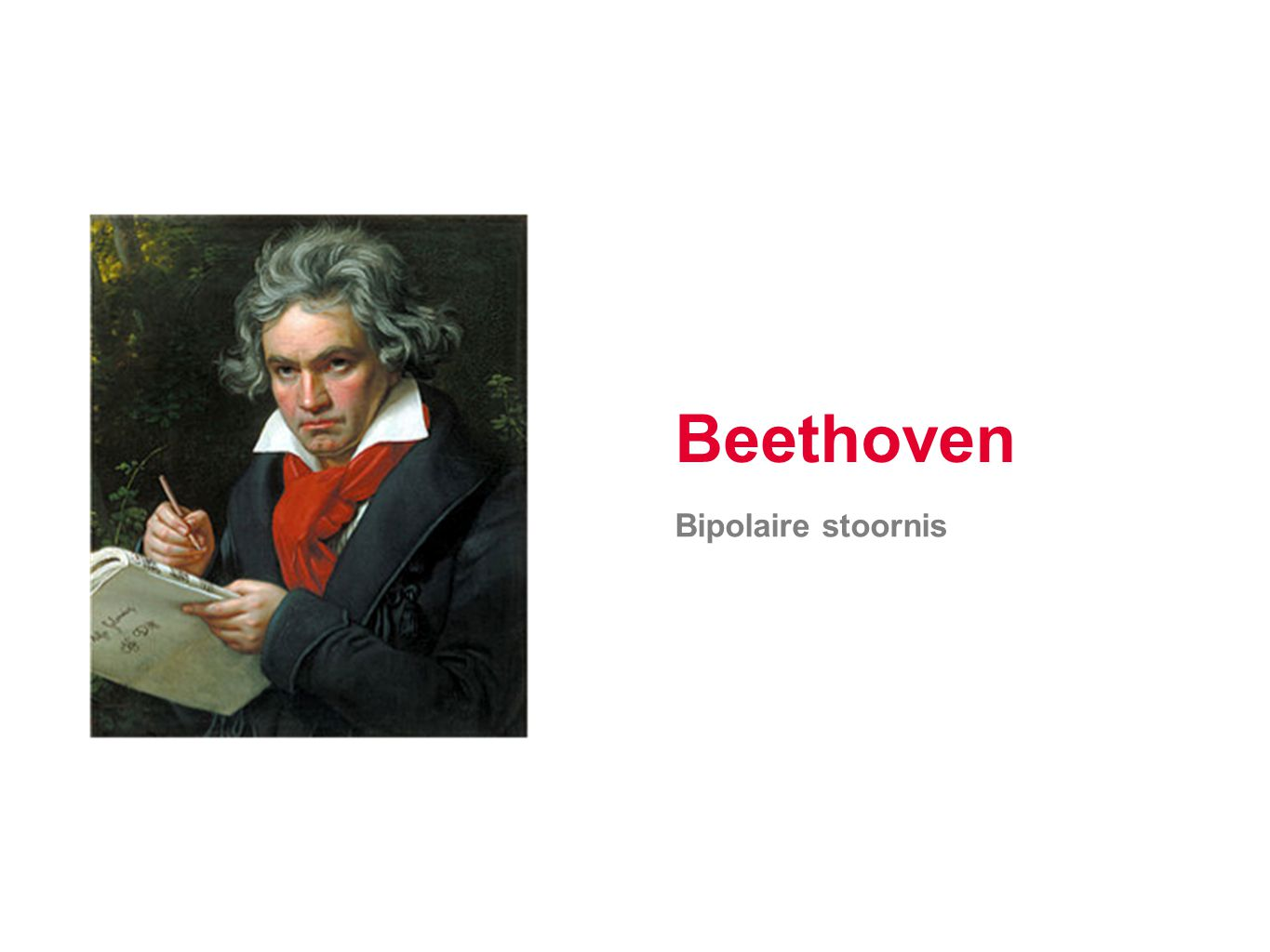 Beethoven Bipolaire stoornis