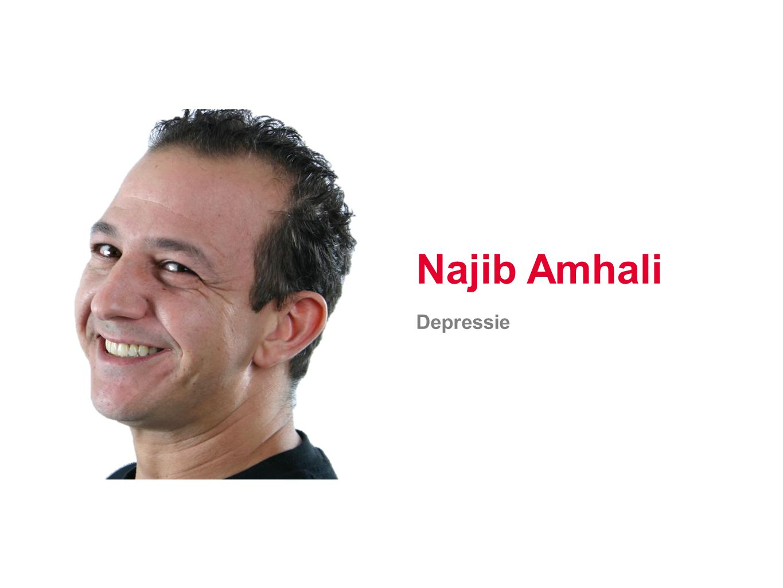 Najib Amhali Depressie