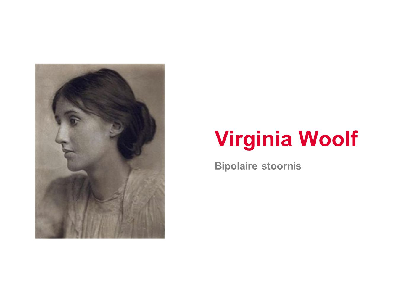 Virginia Woolf Bipolaire stoornis