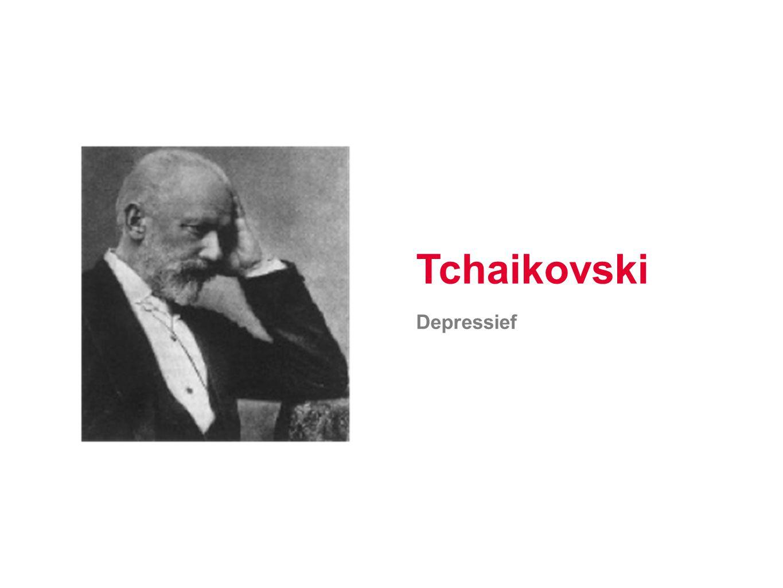 Tchaikovski Depressief