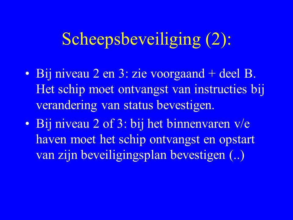 Scheepsbeveiliging (2):
