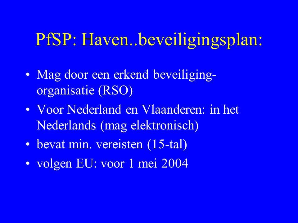 PfSP: Haven..beveiligingsplan: