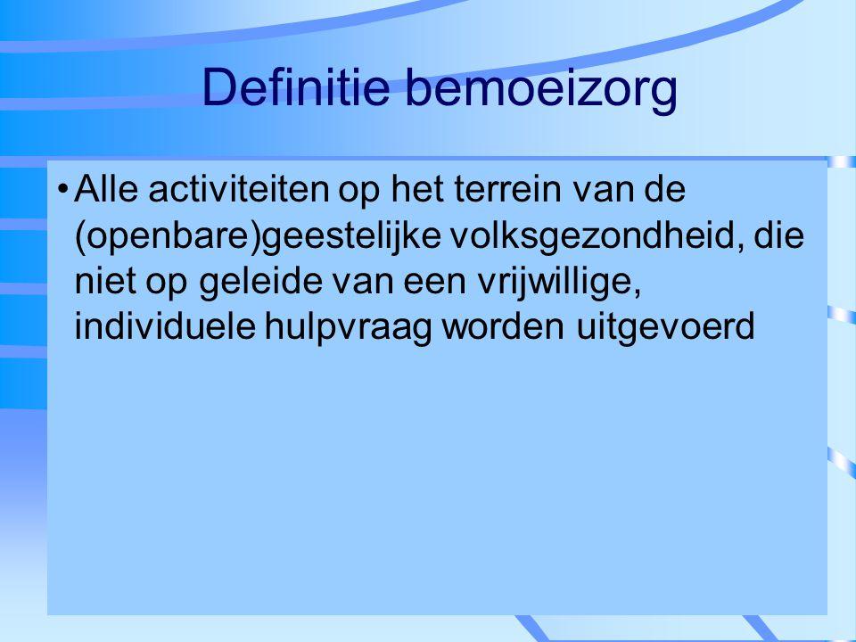 Definitie bemoeizorg
