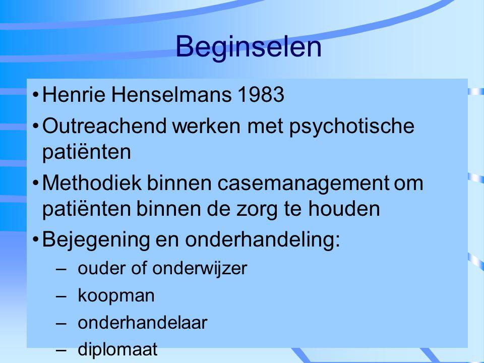Beginselen Henrie Henselmans 1983