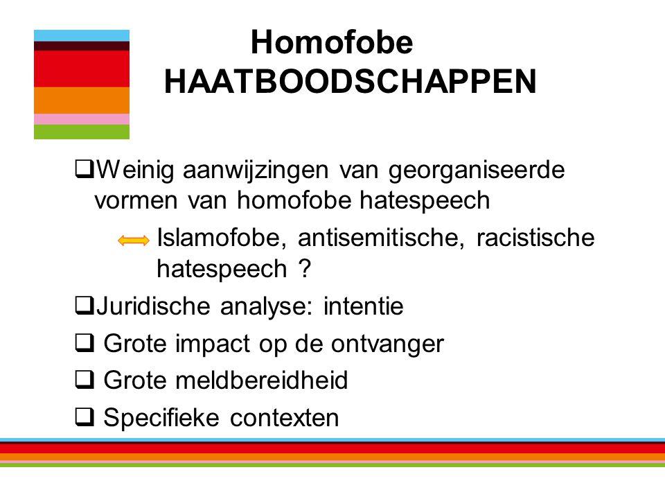 Homofobe HAATBOODSCHAPPEN