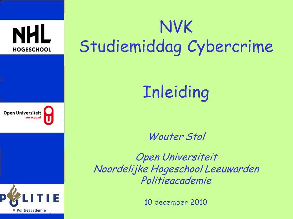 Studiemiddag Cybercrime Inleiding