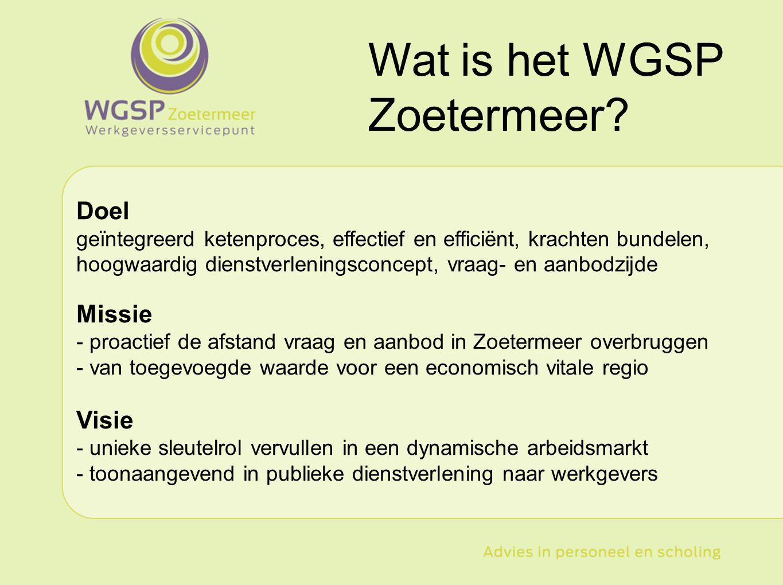 Wat is het WGSP Zoetermeer