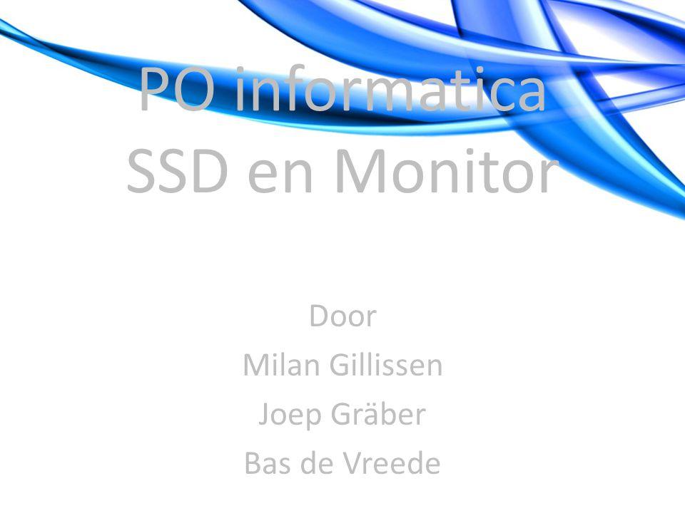 PO informatica SSD en Monitor
