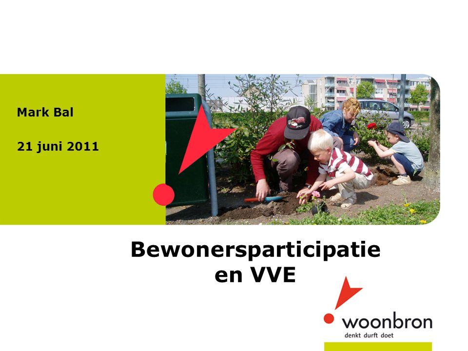 Bewonersparticipatie en VVE