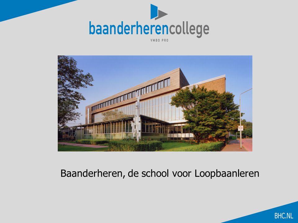 Baanderheren, de school voor Loopbaanleren