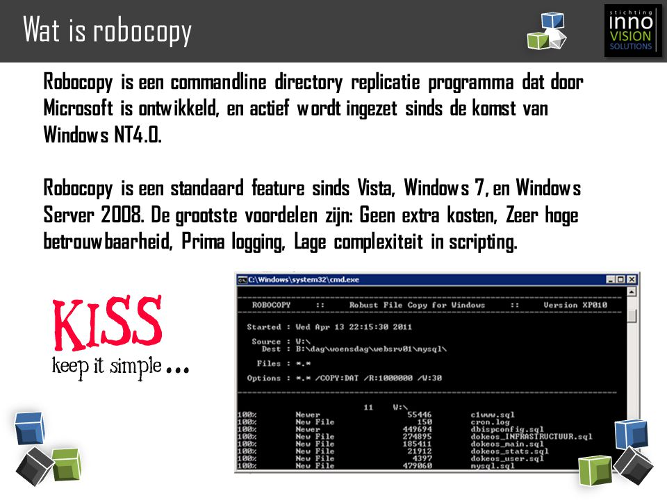 Wat is robocopy