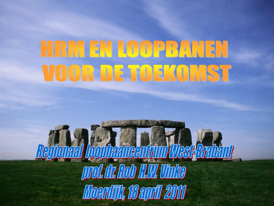Regionaal loopbaancentrum West-Brabant