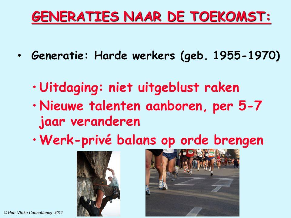 GENERATIES NAAR DE TOEKOMST: