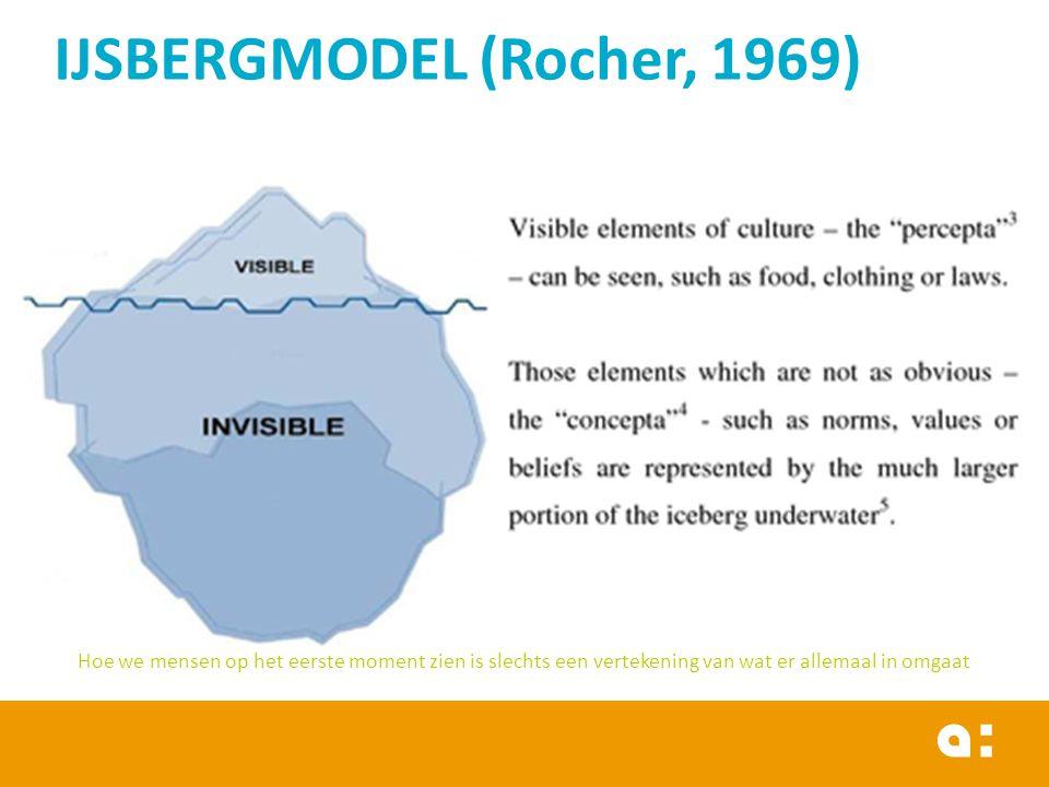 IJSBERGMODEL (Rocher, 1969)