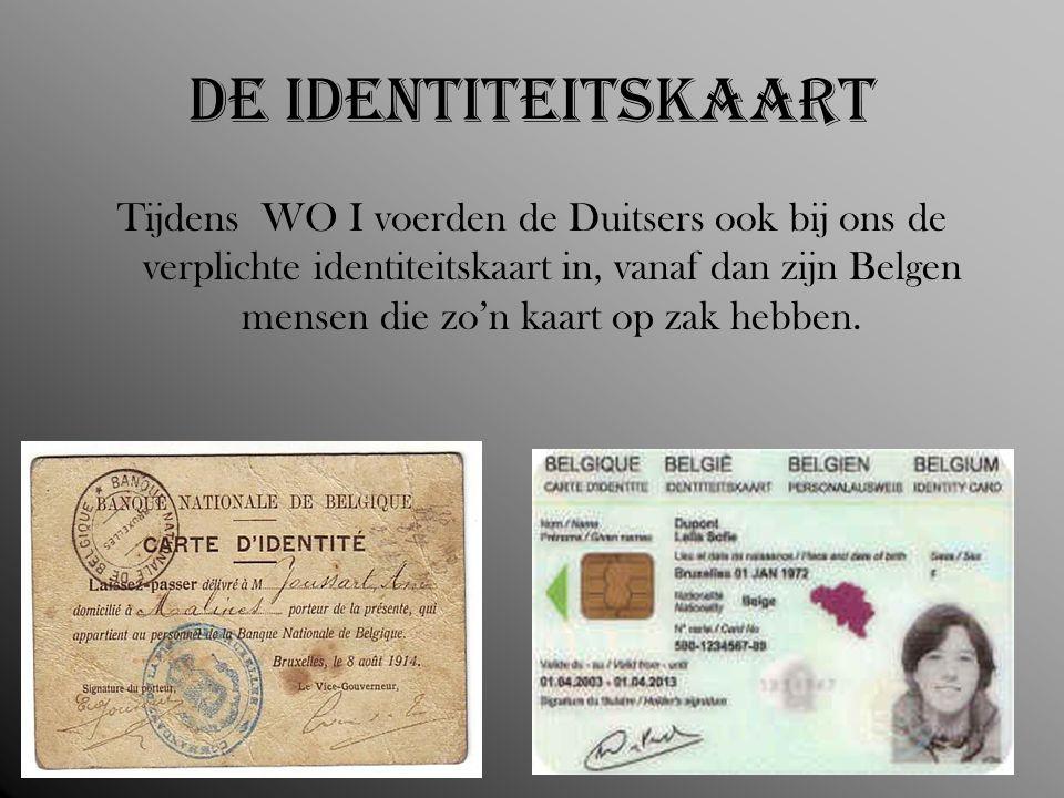 De identiteitskaart