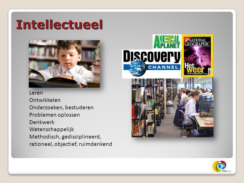 Intellectueel Leren Ontwikkelen Onderzoeken, bestuderen