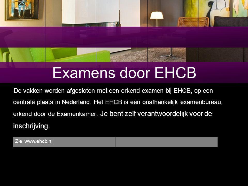 Examens door EHCB