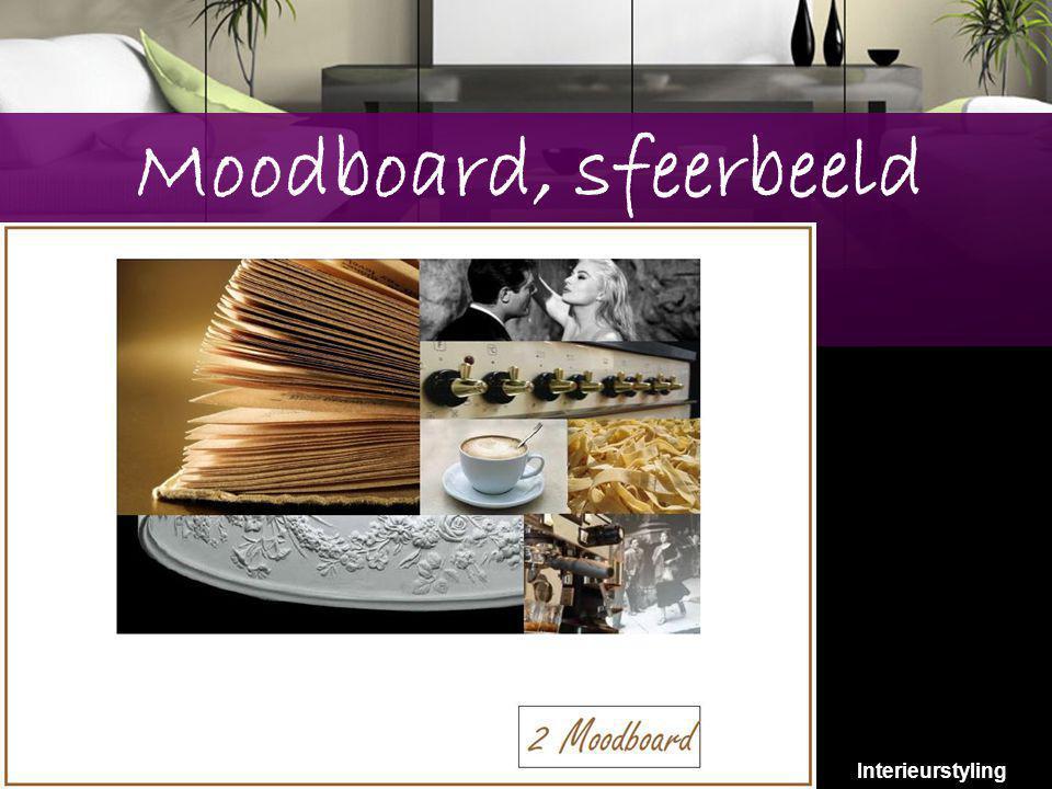 Moodboard, sfeerbeeld Interieurstyling