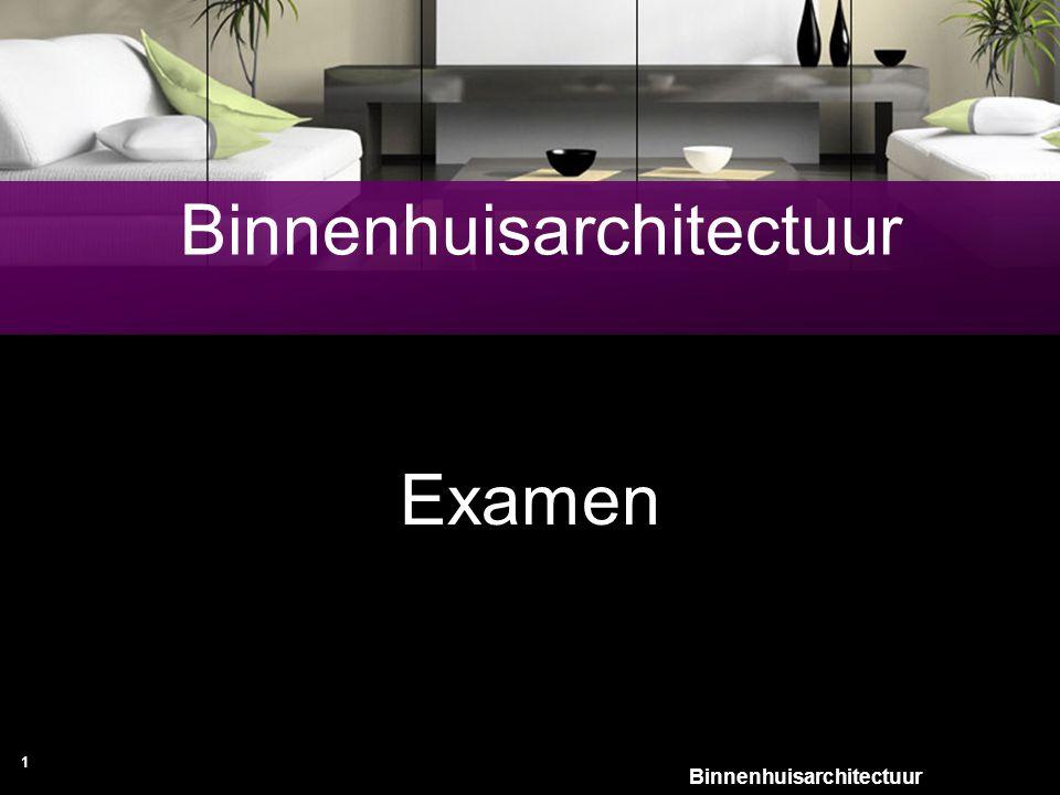Binnenhuisarchitectuur