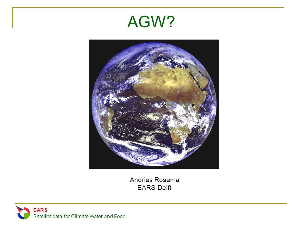 AGW Andries Rosema EARS Delft EARS