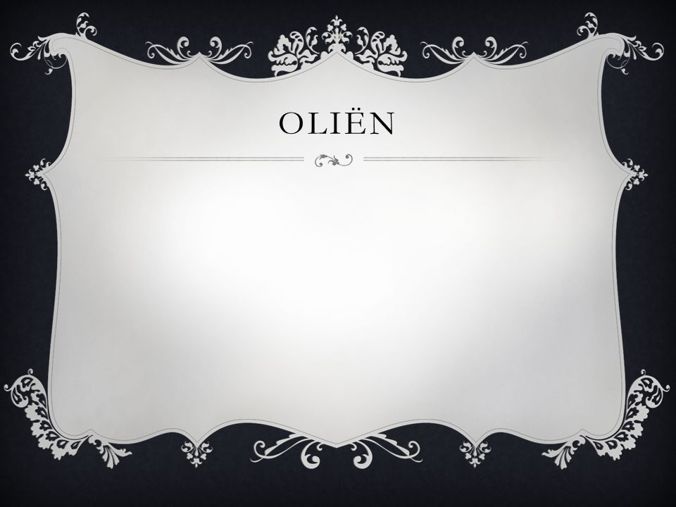 Oliën